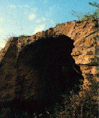 il rudere anfiteatro minore
