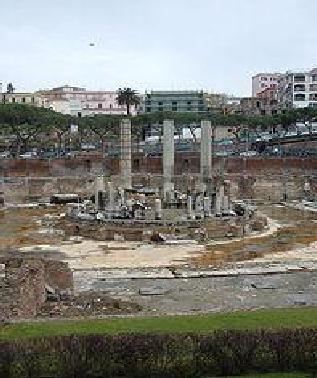 il rudere tempio serapide